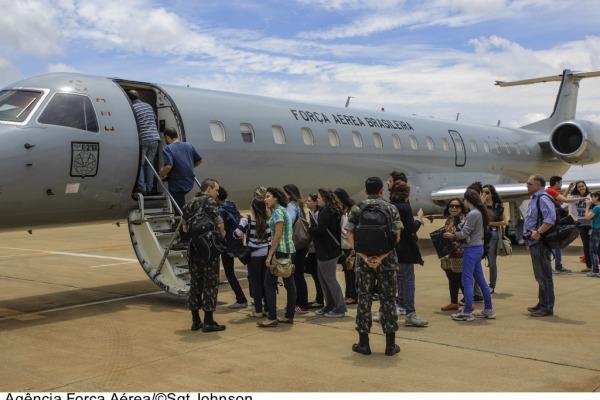 Viagem de estudos faz parte do Projeto Repórter do Futuro  Sgt Johnson/Agência Força Aérea