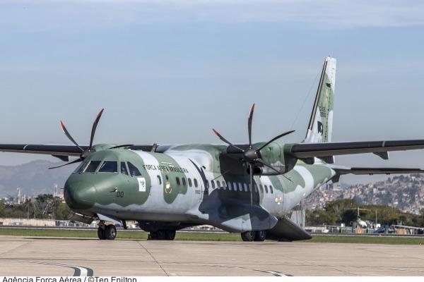 Aeronave de transporte C-105 Amazonas  Agência Força Aérea