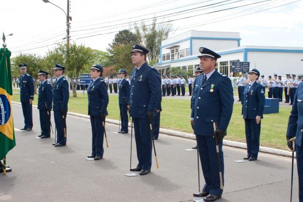 Foi realizada a entrega de medalhas para os militares do efetivo  HACO