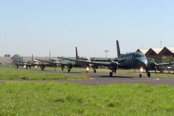 Exercício envolveu quatro esquadrões de voo  VI COMAR