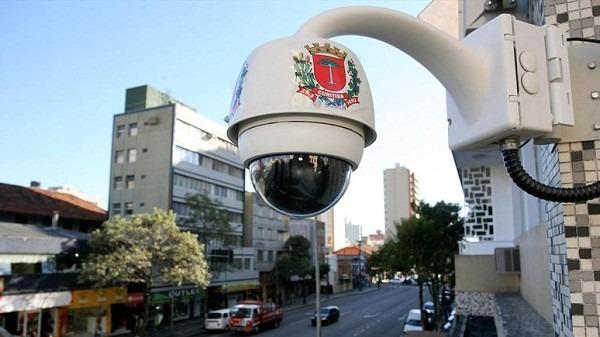Os guardas municipais vão recuperar 56 câmeras de segurança  Imagem pública