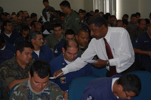 O curso contou com a participação de 110 militares da área de manutenção  Sargento Jean/BABE