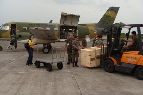 Chegada da onça em Manaus  Soldado Jacaúna