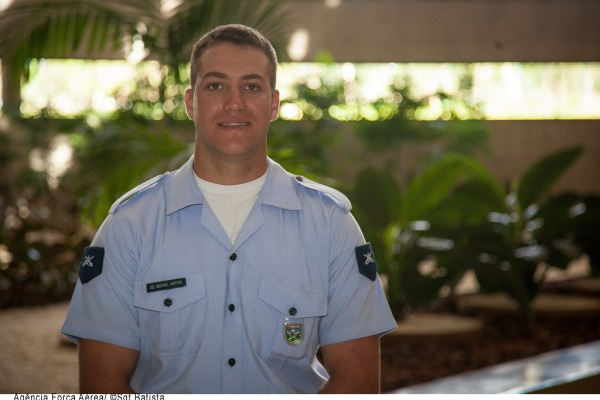 Soldado participante do projeto em Brasília  Sgt Bruno Batista / Agência Força Aérea