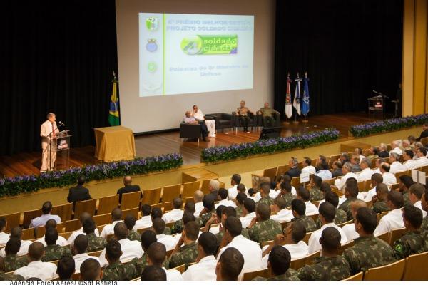 Ministro da Defesa fala sobre o projeto  Sgt Bruno Batista / Agência Força Aérea