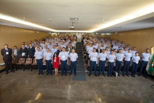 Foto oficial do evento  Sargento V. Santos/Agência Força Aérea
