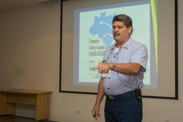 Brigadeiro Rui Chagas Mesquita, chefe da ASPAER  Sargento V. Santos/Agência Força Aérea