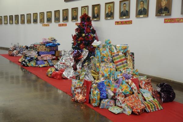 AFA realiza Campanha Natal Solidário  S2 Wallid