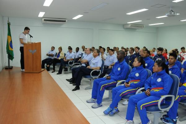 A cerimônia foi realizada no auditório da CDA  Sargento Alvarez/ CDA