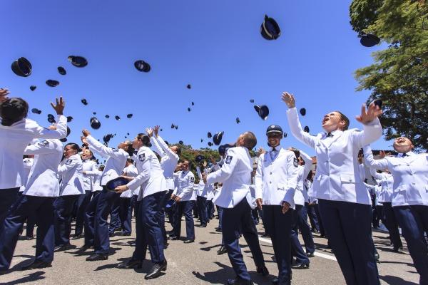 Desde sua criação, em 1941, a EEAR já formou mais de 70 mil sargentos  Sgt Rezende/Agência Força Aérea