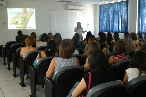Palestra aborda prevenção do câncer de mama  Sd Ramos/ CLA