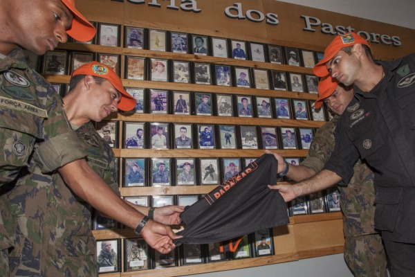 Galeria dos pastores recebeu cinco novas fotos  Agência Força Aérea/Ten. Enilton
