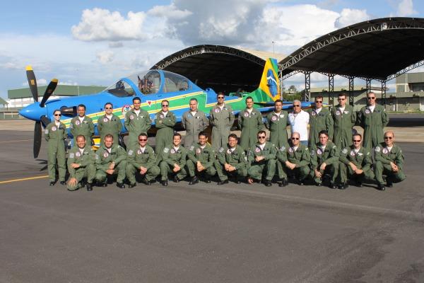 Equipe da missão em Anápolis