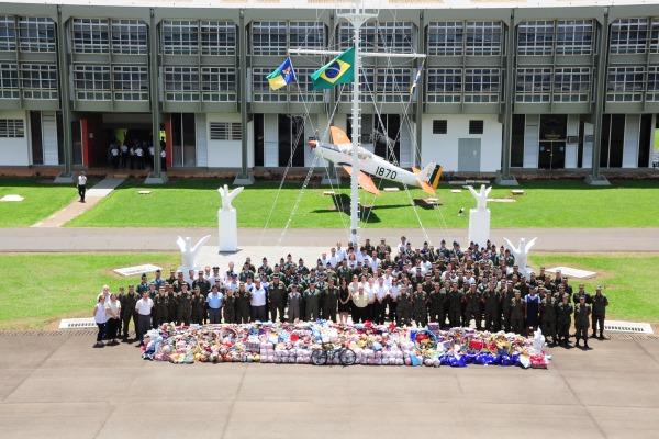 Os militares da AFA participaram do evento  Cabo Diego/ AFA