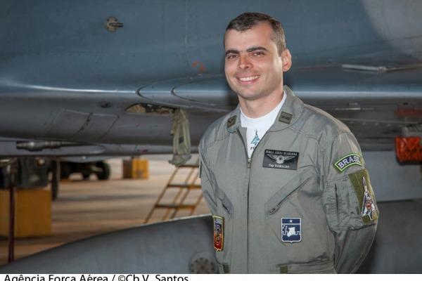 Último voo do Mirage 2000  Cb. V. Santos/Agência Força Aérea