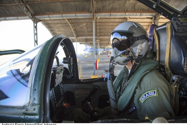 Caça F-5M em alerta na BAAN  Sgt Johnson Barros / Agência Força Aérea