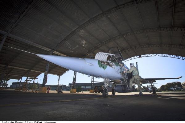 Aeronave pronta para decolagem  Sgt Johnson Barros / Agência Força Aérea
