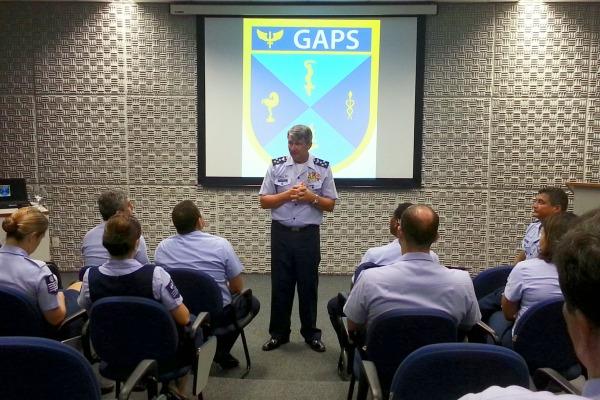 Visita do Comandante do COMGEP ao GAPS  GAPS