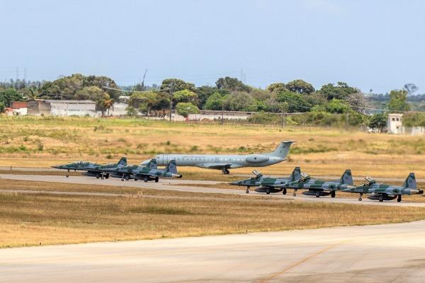 Caças F-5 da FAB  Sgt Paulo Rezende / Agência Força Aérea