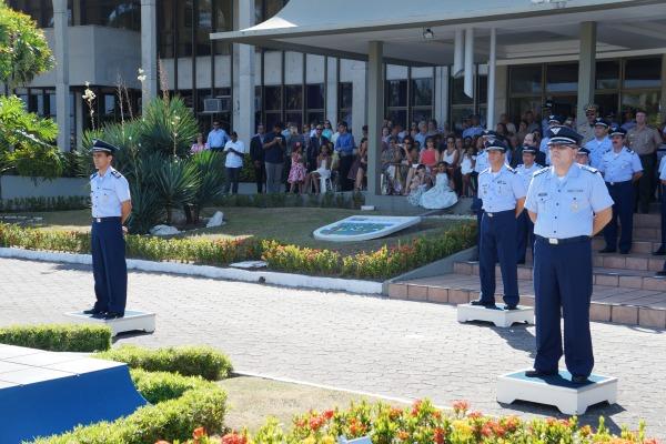 O Gabinete do II COMAR realizou passagem de comando  Sargento Molina/ II COMAR