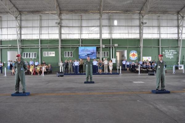 Esquadrão Orungan realiza passagem de comando  BASV
