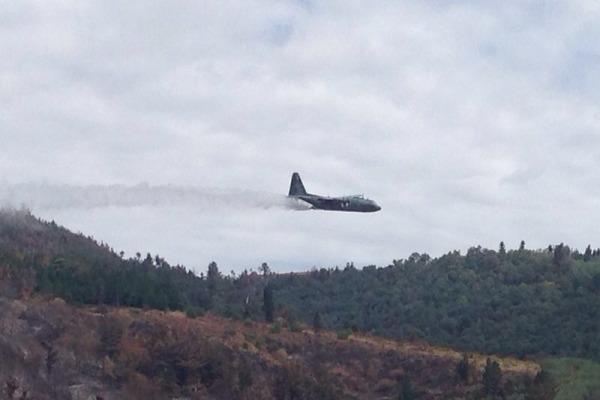 C-130 Hércules despeja água  1° GTT