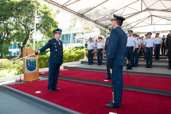 O Coronel Oliveira é o novo diretor do DCI  Sargento Patrícia Bonfim/ DCI