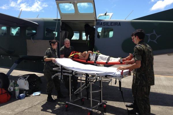 Resgate no Amazonas  Tenente Kiara / VII COMAR