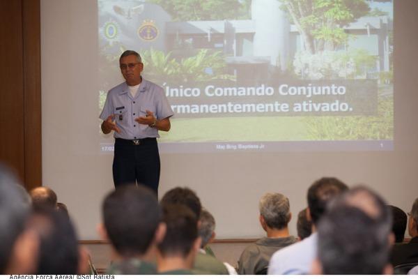 Comandante do COMGAR ressalta a importância do evento  Agência Força Aérea/Sgt Batista