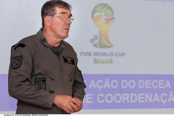 Diretor de Operações do DECEA, Brigadeiro do Ar José Alves Candez Neto  Agência Força Aérea/Sgt Batista