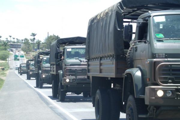Comboio do Exército em Santa Catarina  Exército Brasileiro