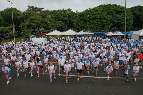 Cerca de mil pessoas participaram da Corrida da Paz  Cabo V Santos/ Agência Força Aérea