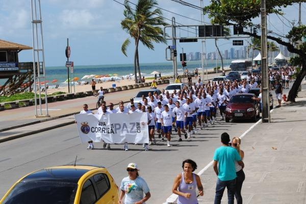 Mais de 600 corredores participaram do evento em Recife  II COMAR
