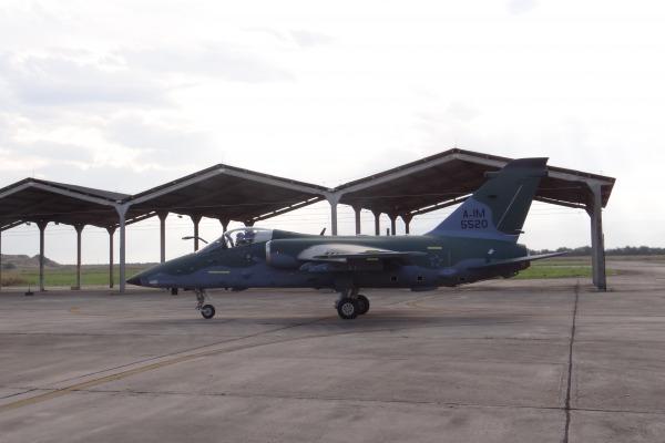 Esta é a segunda unidade do A-1M entregue ao Esquadrão Adelphi  BASC