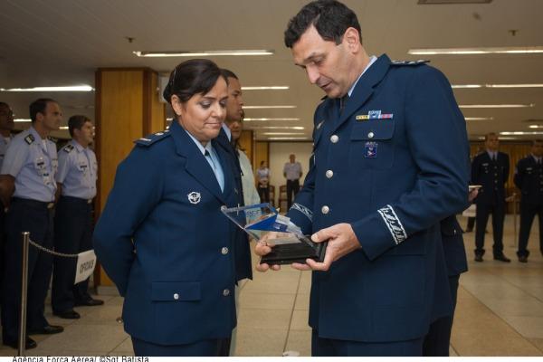 Durante a cerimônia foram reconhecidos os militares destaques  Agência Força Aérea/Sgt Batista