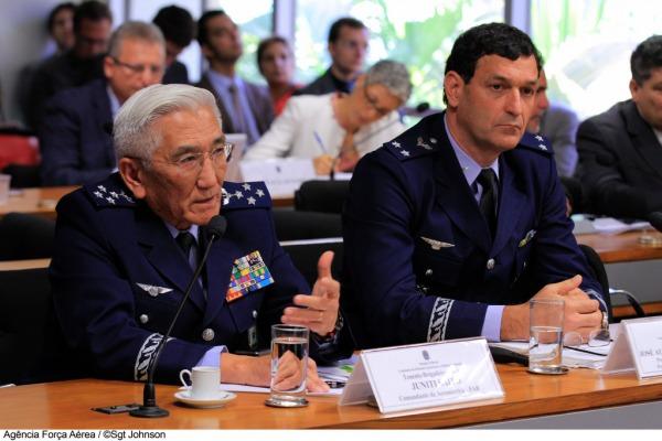 Brigadeiro Saito defende a escolha do Gripen NG  Sgt Jonhson/Agência Força Aérea