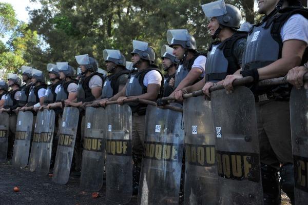 O curso habilita os participantes a compor a tropa de segurança na Copa  Ten Eduardo/EPCAR