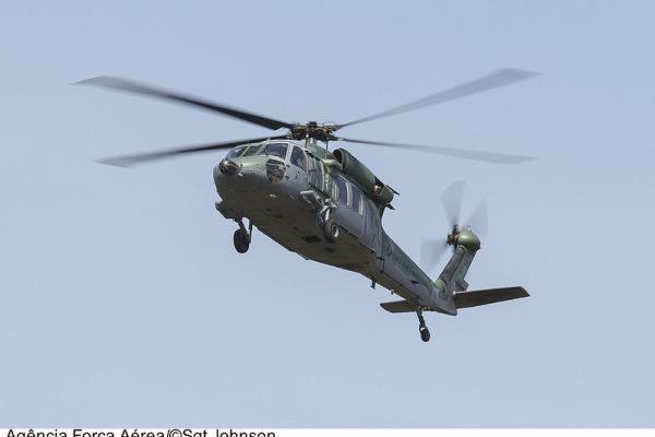O Salvaero da Região Amazônica coordena a busca que envolve um helicóptero Black Hawk e um SC-105 Amazonas