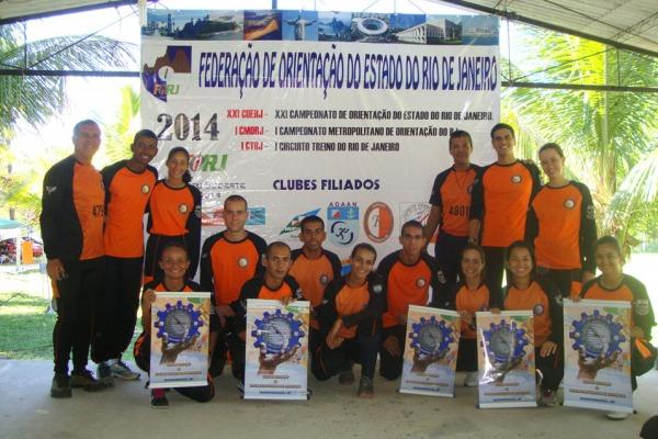 No total, a equipe conquistou 14 premiações na competição Troféu Sudeste realizada no Rio de Janeiro