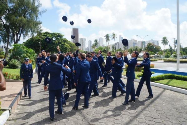Os novos Oficiais da área de saúde vão trabalhar nas Organizações Militares do Nordeste subordinadas ao Segundo Comando Aéreo Regional