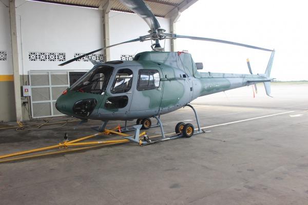 Nova Camuflagem do H-50  1° Ten Av Ivison