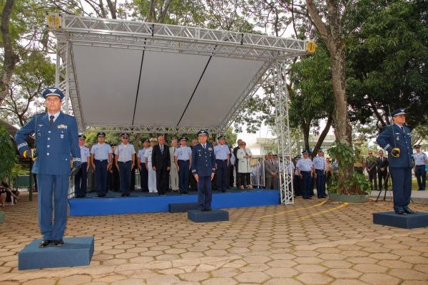 O Major-Brigadeiro Egito assumiu na terça-feira (01/4) o Comando de Defesa Aeroespacial Brasileiro