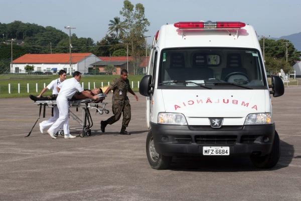 Operação segue até o dia 11 de abril e reúne cerca de 350 militares na Base Aérea de Florianópolis
