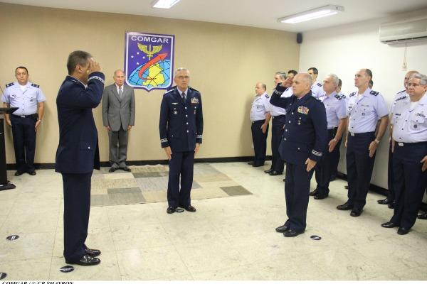 O Major-Brigadeiro do Ar Antônio Carlos Moretti Bermudez assume a chefia do cargo em Brasília