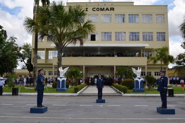 A cerimônia foi presidida pelo Tenente-Brigadeiro Rossato  3S Gilberto Silva/BABE