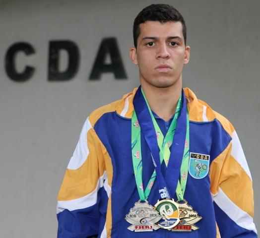 Leonardo Cavalcanti Rodrigues ficou na primeira colocação do campeonato que reuniu cerca de 420 atletas