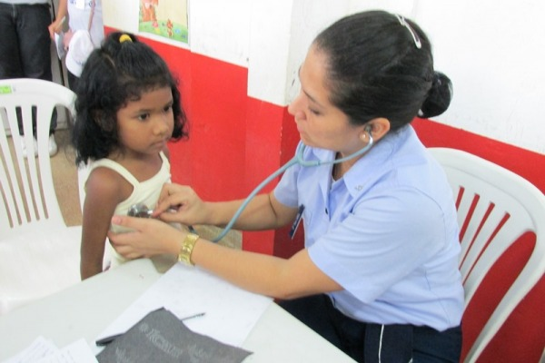 Médicos da FAB realizaram 445 atendimentos  Ten Lorena