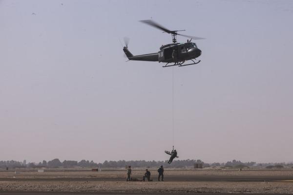 Nesta semana, o comandante da Aeronáutica acompanha as ações em Lima e Pisco