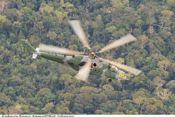 Interceptação de aeronaves durante a Ágata  Sargento Batista/ Agência Força Aérea