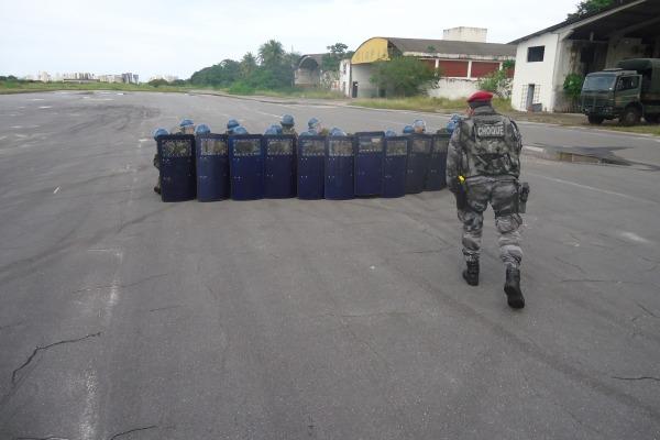 As instruções ministradas visam manter o efetivo da unidade preparado para as ações previstas para o ano 2014 em Fortaleza, principalmente, a Copa do Mundo e a VI Cúpula dos Brics